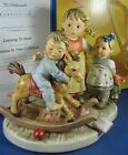 Rare Hummel Goebel Figurine Learning to Share #2250 Moments in time collection