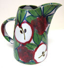 Dartington Pottery Helen Hewitt Apple Design Extra Large Toucan Jug 9