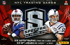 2013 PANINI SPECTRA FOOTBALL SEALED HOBBY BOX FREE SHIP