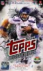 (2) BOX LOT 2014 TOPPS HOBBY FOOTBALL SEALED HOBBY BOXES FREE SHIP