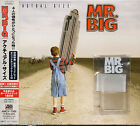 Mr. BIG ACTUAL SIZE  CD JAPAN Slip Case Obi Booklet Bookmark