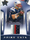 2008 R&S Wes Welker Auto 4 Color Jersey 25