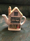Decorative Tea Shop House Cottage Tea Pot - MANY PICTURES
