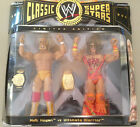 WWE CLASSIC SUPERSTARS LIMITED EDITION  HULK HOGAN V ULTIMATE WARRIOR.