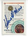 VERY RARE 1992 STAR PICS HAROLD MINER CERTIFIED BLUE INK AUTOGRAPH AUTO #84 USC