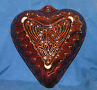 Vintage~SCHEURICH KERAMIK~W GERMANY~Ceramic HEART & LOVEBIRDS MOLD~NEAR MINT!!!