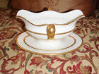 Vintage Lenox Set of Fine Bone China -- 84 Pieces Mainly Gold Tuxedo J33