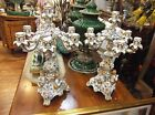 Magnificent Pair of Porcelain Candelabras