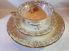 SELTMANN WEIDEN BAVARIA TRIO MADE IN GERMANY CUP, SAUCER, PLATE SET #23