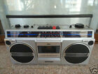 SANYO M9802AK (1985) VINTAGE BOOMBOX - ONLY RADIO WORKING!