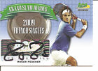 Rare 2013 Ace Authentic Grand Slam Heros Roger Federer Autograph card #2 3