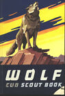 WOLF CUB SCOUT BOOK  vintage 1965 Printing Used Boy Scouts of America  BSA