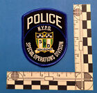 NEW New York City Police Special Operations Division PATCH -  NYPD