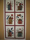 MODA HAPPY HOLLOW quilt fabric panel by Sandy Gervais
