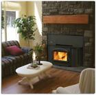 NAPOLEON 1402 WOOD BURNING FIREPLACE INSERT COMPLETE W/ 25 FOOT LINER KIT