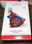 2014 Hallmark Ornament   THE GREAT GONZO Disney Muppets sound  NEW IN BOX