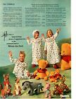 1966 Winnie the Pooh lamp bedspread stuffed animals dinnerwear sleeping bag