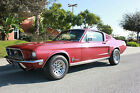 Ford  Mustang Base Fastback 2 Door 1968 ford mustang s code fastback 2 door exellent conditions magazine featured