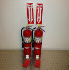 Lot of 2 - 10lb Amerex ABC Fire Extinguisher With New Certification New Tag nice