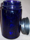 Mason's Patent Nov 30th 1858 Indigo Blue/Cobalt Blue Color Pint Repro Fruit Jar