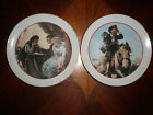 LOT OF 2 NORMAN ROCKWELL COMMEMERATIVE PLATES