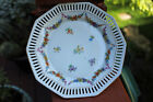 Antique/Vintage Ahumann Bavaria Flower and Gold Pierced Plate