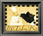 Milk Framed Art Print By Dan Dipaolo - 12x10