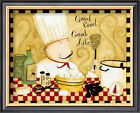 Good Food, Good Life Framed Art Print By Dan Dipaolo - 11x9