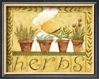 Herbs Framed Art Print By Dan Dipaolo - 11x9