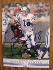 PEYTON MANNING 2001 UPPER DECK AUTOGRAPH BUY BACK 2002 2 9 LIMITED RARE AUTO