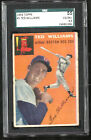 1954 TOPPS TED WILLIAMS #1 SGC GRADED 55 (4.5) VERY GOOD EXCELLENT PLUS RED SOX