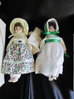 Vintage 1983 Gorham Dolls of the Month January and December