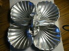 Vintage CPOX Silver 4 Divided Clam Shell Lobster Tray Dish