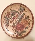 Vintage Deruta Italy Sgraffitto Polychrome Decorative Wall Plate Signed M G P