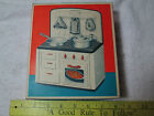 Vintage MFZ FUCHS Kitchen Stove EMPTY BOX By Made In Western Germany