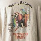 Tommy Bahama Feathers Of Fury XXL T Shirt Kung Fu Parrot Rum Daiquiri Relax