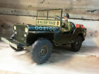 vintage rare Arnold Jeep mod 2100 Lithographed Clockwork 1951 Wind-Up Tin Toy