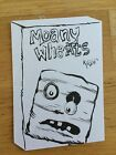 WACKY PACKAGES 2014 SHAPED SKETCH CARD MOANY WHEATS MATTHEW KIRSCHT CEREAL BOX