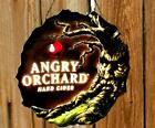 ANGRY ORCHARD HARD APPLE CIDER BEER LED SIGN LIGHTED WALL DECOR MANCAVE BAR PUB