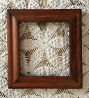 Antique Primative Folk Wood Picture Frame 1800's
