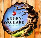 ANGRY ORCHARD APPLE HARD CIDER SIGN METAL BEER TIN NEW 20X20 TREE ADVERTISING