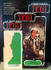 card back HAN SOLO Trench Coat Star Wars ROTJ Return of Jedi 3 3 4 loose NICE