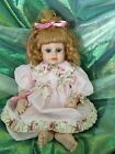 Beautiful Porcelain Doll from Heritage Mint Ltd. 2000 18 - 20 Inches