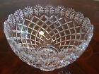 Lead Crystal Glass Ice Cream Bowl with Daisy Flower Edge, Brussels Collection