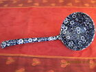 Burleighware Blue Calico Soup  Ladle Burgess and Leigh Staffordshire