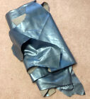 Q1 Leather Cow Hide Cowhide Upholstery Craft Fabric Corvette Teal Blue 57 sq ft