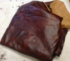 D4 Leather Cow Hide Cowhide Upholstery Craft Fabric Hazelnut Brown 56 sq ft