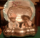 Pair c.1800's germany porcelain bisque piano babies