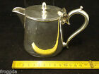VINTAGE SINGLE SILVER PLATED WATER POT EPNS HOTEL PLATE 29CL MAPLIN AND WEBB