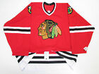 CHICAGO BLACKHAWKS AUTHENTIC HOME TEAM ISSUED REEBOK 6100 HOCKEY JERSEY SIZE 58
